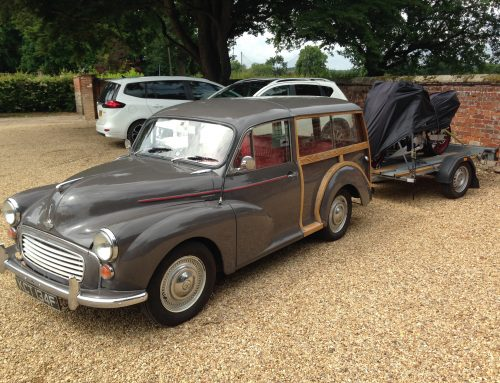 Half Timbered: Morris Minor Traveller
