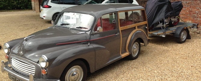 Morris Minor Traveller Exeter