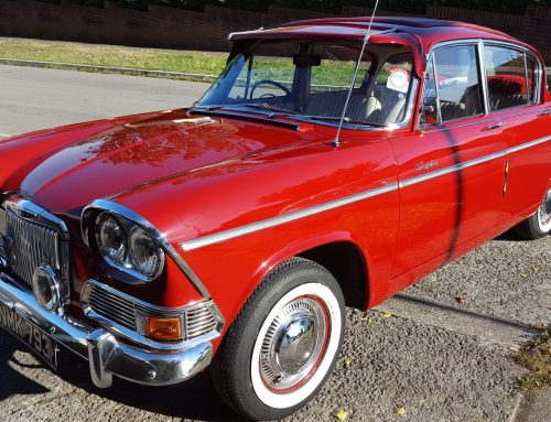 John Bennett's '63 Humber Sceptre to Attend 2016 Turner Locker Barnfield Revival