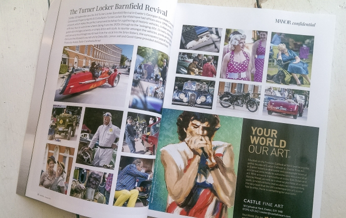 Motoring Event Photography Manor Magazine Article
