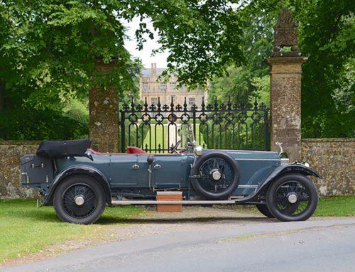 Graham Tyson's 1920(ish) Rolls Royce Silver Ghost