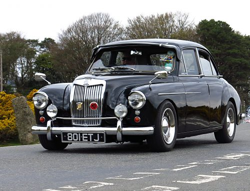 Murray Cowley's MG Magnette