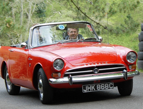 Sunbeam Alpine GT Series IV Set For Barnfield Crescent Event in Exeter