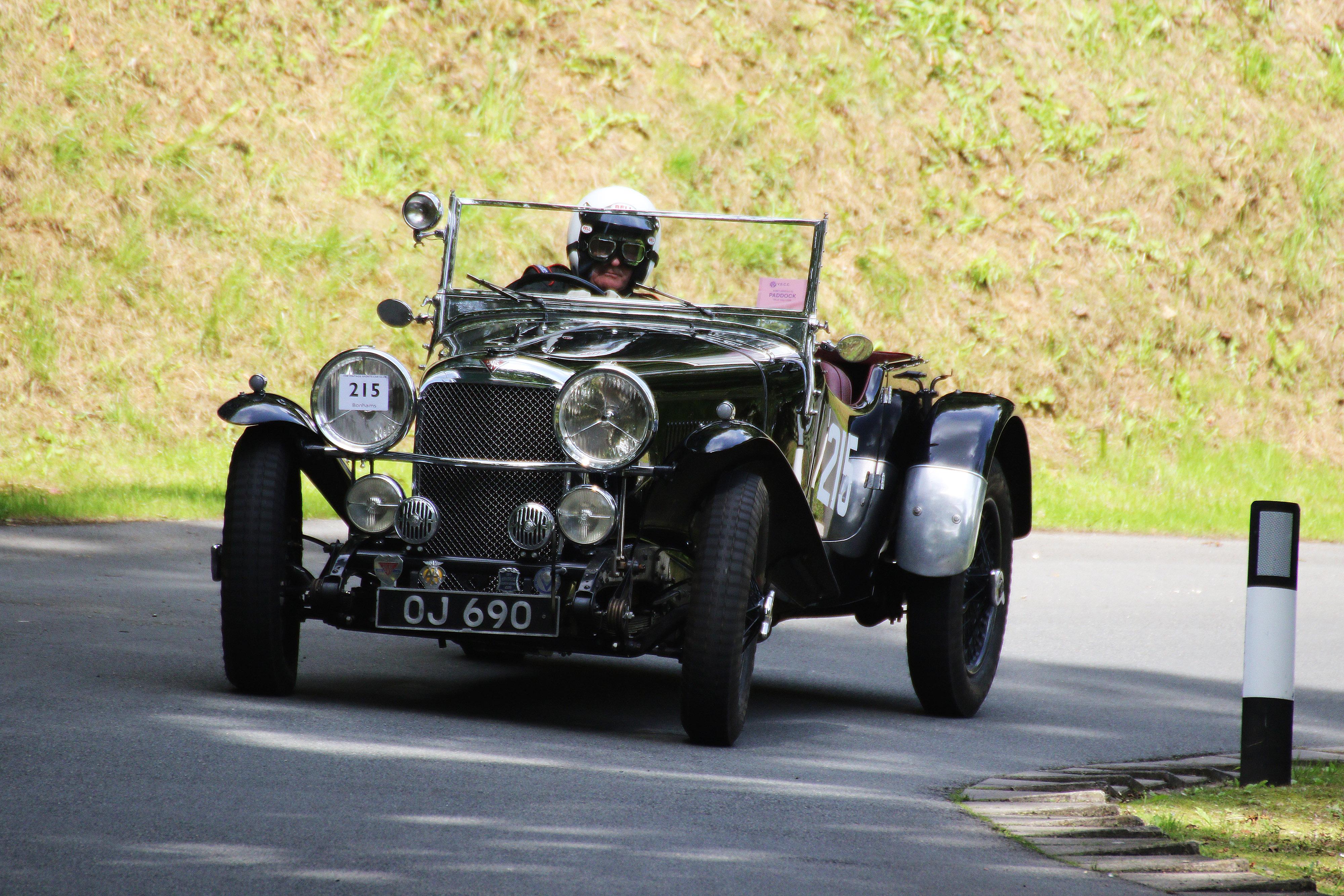 Exeter car show alvis