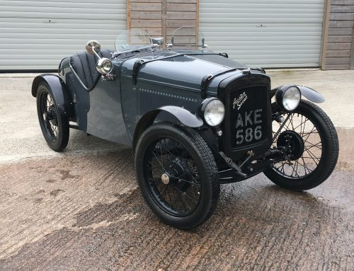 "1933 Austin Seven ""Ulster"" Special To Attend 2018 Exeter Motor Revival"