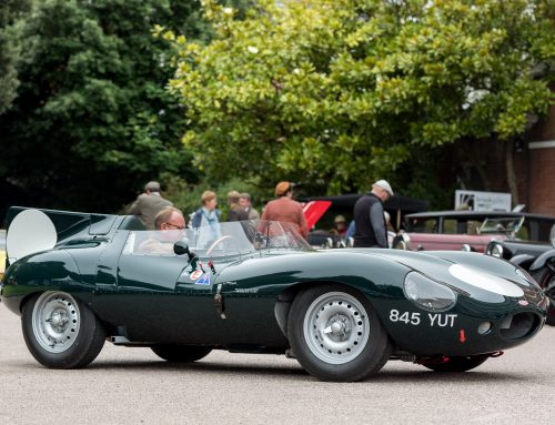1958 Jaguar D-Type Replica To Attend Exeter Motor Show