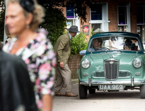 Wolseley 1500 Returning to Exeter Vehicle Revival