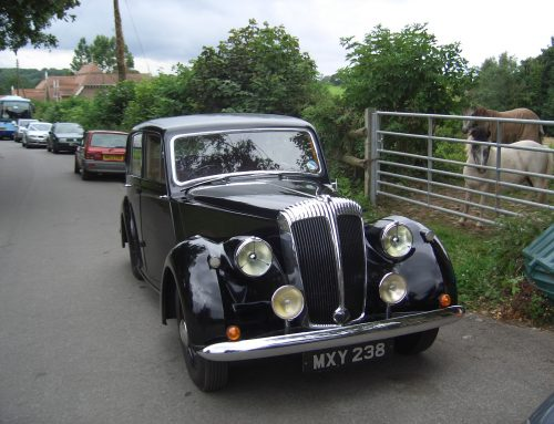 1952 Daimler Consort To Attend Exeter Motoring Revival