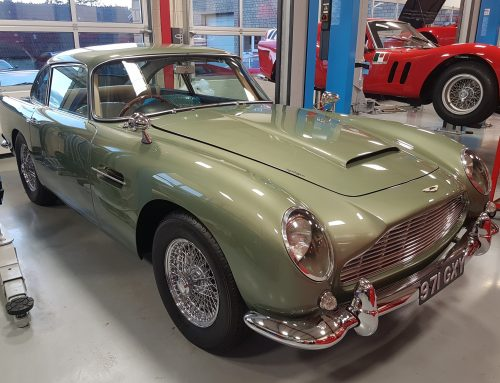 Aston Martin DB5 to Attend Exeter Motoring Revival