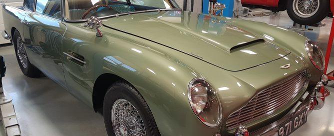 Exeter Motor Revival Aston DB5